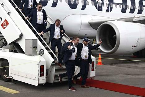 Leijonat ovat saapuneet takaisin Suomeen.