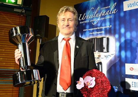 Pertti Ukkola on valittu myös Suomen urheilun kunniagalleriaan.
