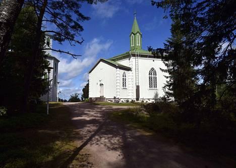 Vuonna 1876 valmistunut Reposaaren kirkko pääsi keväällä Porin seurakuntayhtymän viidenneksi tiekirkoksi.