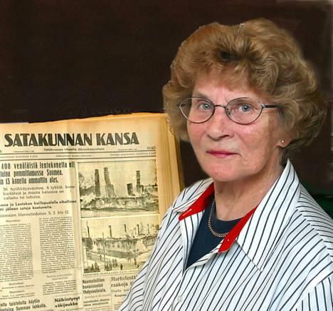 Satakunnan Kansa 1.2.2003: Nina Eriksson (o.s. Anders)  on säästänyt helmikuun pommituksista kertovat uutiset. Nykyisen Itätullinkadun ja Varvinkadun kulmassa sijainnut puutalo paloi perustuksiaan myöten. Muutaman korttelin päässä asuneella Andersinin perheellä oli parempi onni.