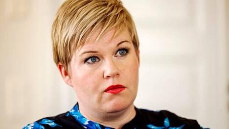 Annika Saarikko kuvattiin kesäkuun lopussa.