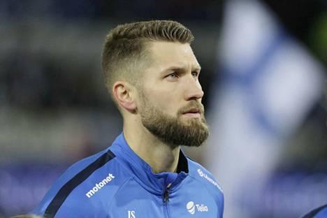 Suomen maajoukkuepuolustaja Joona Toivio edustaa Ruotsissa Häckenin joukkuetta.