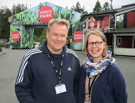 New Winen tapahtumajärjestelyt ovat vapaaehtoisten voimannäyte. Jukka ja Kirsi Jämsén ovat olleet mukana vuosikaudet.