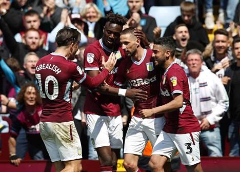 Aston Villa voitti Derbyn menneellä kaudella lukemin 4–0 ja 3–0.