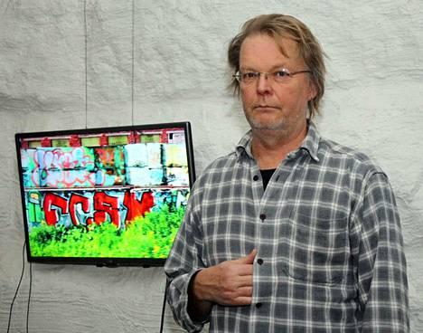 Kuvataiteilija Sami Ala kuvasi Passanger-teoksen rautateillä Moskovasta itään.