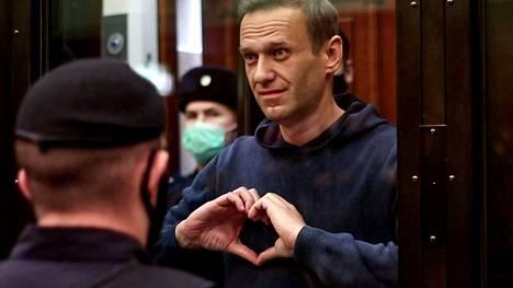 Oppositiojohtaja Aleksei Navalnyi kuvattiin helmikuussa 2021.