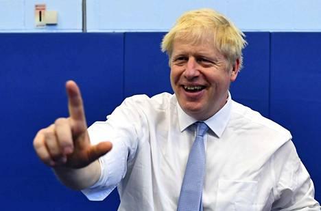 Lontoon entinen pormestari Boris Johnson haluaa vetää maansa Euroopan unionista lokakuussa, syntyi sopimus siihen mennessä tai ei.