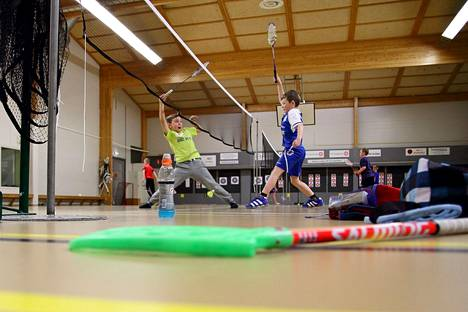 Sastamalan kaupungin liikuntaan käyttämät veroeurot olivat vuonna 2019 82 euroa asukasta kohti. Kuvassa liikuntaa Vinkin vapaa-aikakeskuksessa.