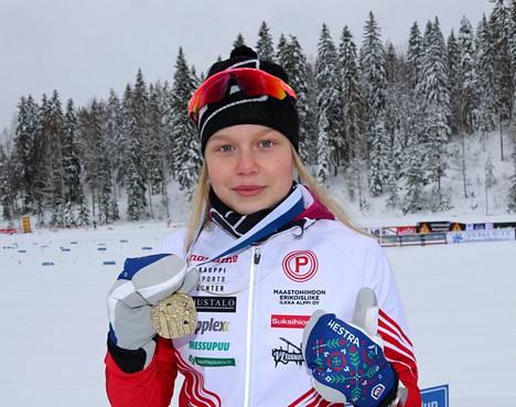 Fanny Kukonlehto oli kympin vauhdikkain Jyväskylässä.