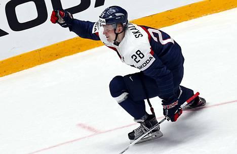 195-senttinen ja 94-kiloinen Pavol Skalicky on edustanut Slovakiaa kolme kertaa MM-kisoissa.