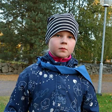 Harjavaltalaisen Emilia Laineen mukaan parasta partioharrastuksessa on rakentaminen. Häntä haastatteli Saima Lehto.