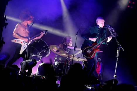 Apulanta oli esiintymässä Porisperessä aikaisemmin vuonna 2017. Nyt se on yksi festivaalin pääesiintyjistä.