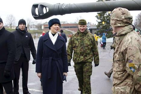 Viron presidentti Kersti Kaljulaid on joutunut törmäyskurssille hallituspuolue Ekren kanssa.