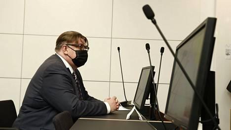 Timo Soinia yritettiin lyödä muovipullolla maaliskuussa 2019. Asiaa käsiteltiin Itä-Uudenmaan käräjäoikeudessa Vantaalla 10. toukokuuta.