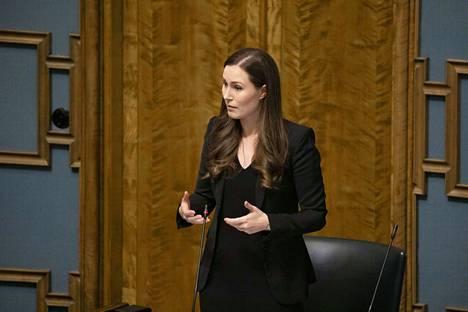 Pääministeri Sanna Marinin (sd.) hallitus neuvotteli perjantaina toimista yritysten talouden tueksi.