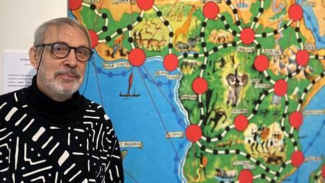 Georg Pimenoff tuntee Afrikan mantereen ja kulttuurien moninaisuuden. Se on erilainen kuin tunnetussa Afrikan tähti -pelissä.