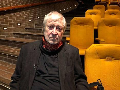 Kirjailija näki keskiviikkona teoksensa ensi-illan Tampereella.