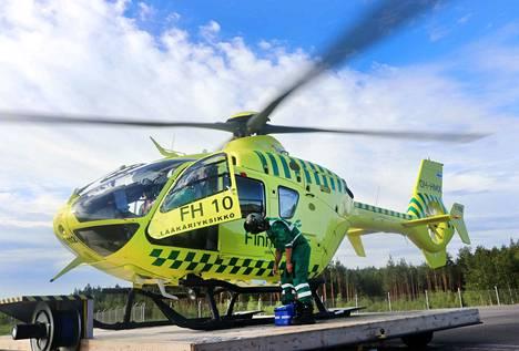 Finnhemsin lääkärihelikopteritoiminnan on tarkoitus muuttua ostopalvelusta omaksi lentotoiminnaksi.