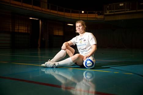 Netta Hannula teki kauden aikana tehot 32+22.