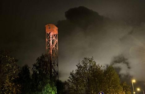 Peruskorjauksen tarpeessa oleva Pispalan haulitorni on historiallisesti arvokas. Tornista on muodostunut alueensa symboli ja maamerkki, joka on ollut 2009 lähtien pysyvästi valaistu kohde. Kuva vuodelta 2012.