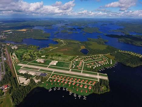 Havainnekuva Sassiin suunnitellusta 250 miljoonan kiinteistökehityshankkeesta. Rahoittaja Osanna ACI Finland Oy vetäytyi hankkeesta viime viikolla.