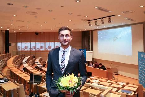 SUL:n puheenjohtaja Sami Itani on tyytyväinen, että liittovaltuusto päätti kiintiöistä eri sukupuolille.
