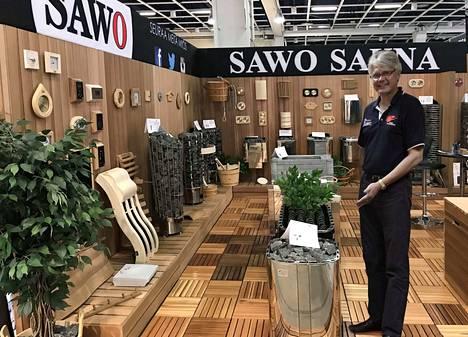 Veikko-Matti Kallioniemen tehdas toimittaa Filippiineiltä kiukaita ja saunatarvikkeita yli 80 maahan.