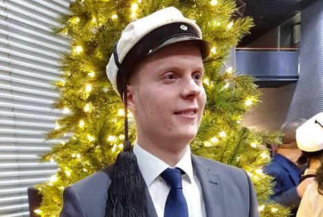 Keuruulainen Juuso Maskonen on valmistunut konetekniikan diplomi-insinööriksi.