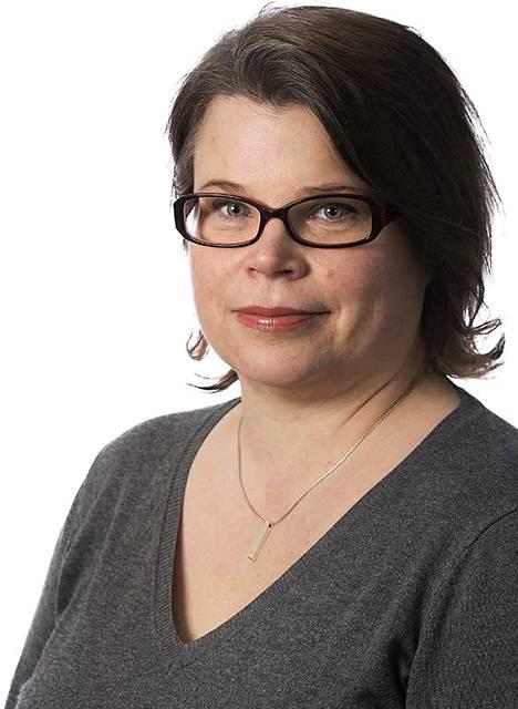Pohjalaisen toimittaja Laura Krohn. kolumnikuva