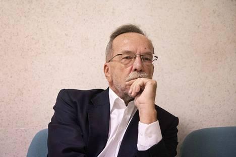Porin palveluliikelaitoksen ex-johtaja Kaj Kainulainen.