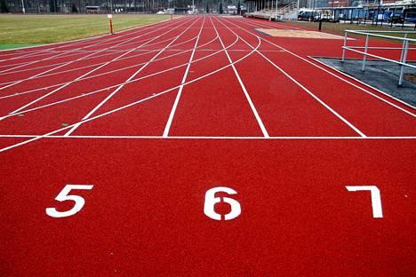 Kankaanpään yleisurheilukentällä kilpailtiin tiistaina Satakunnan mestaruuskilpailut.