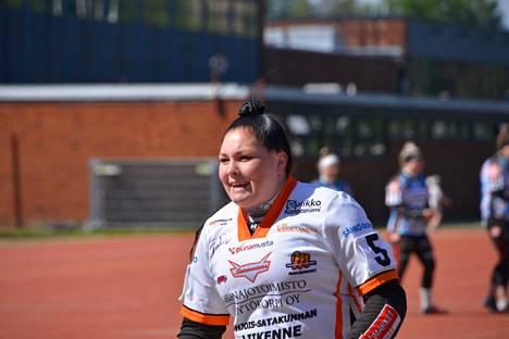 Kahden kunnarin Jade Vartiamäki oli Majuttarien tähti tiukassa Hamina-voitossa.