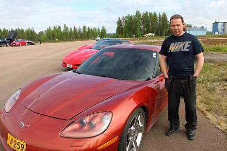 Vilppulasta kotoisin oleva Saku Ritola osallistui nopeusmittaukseen vuonna 2017 Chevrolet Corvettella, josta löytyy tehoa noin 1000 hevosvoimaa.
