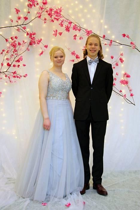 Ida Heikkilä ja Jonne Koivuranta.