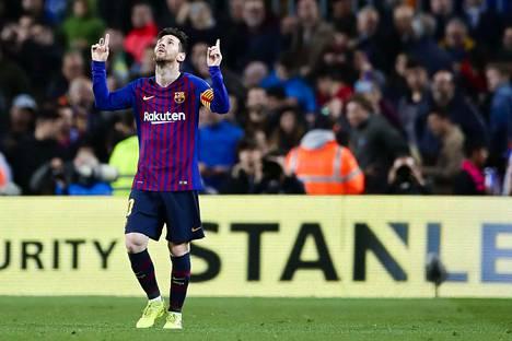 Käykö Lionel Messin Barcelona ryöstöretkellä Manchesterissa?
