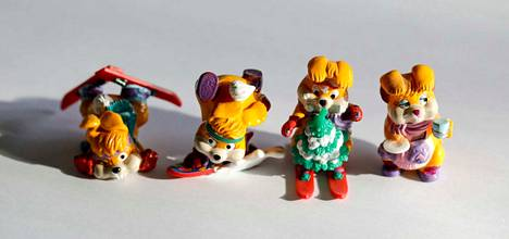 Skibunnies on monelle 1990-luvun lapselle tuttu lelufiguuri. Hiihtopuput ovat Krisse Kariman suosikkeja.