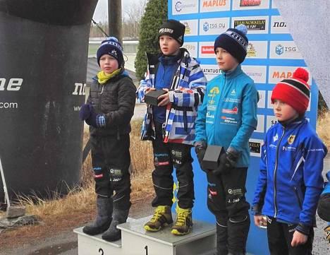 KankUn  M9 P 2 km voittaja oli Eemeli Hietaoja, toiseksi tuli Juho Kuuskoski ja kolmanneksi Viljo Vehkamäki. Neljäs oli Jalmari Salmio.