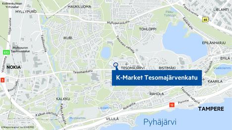K-Market Tesomajärvenkatu