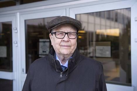 Olavi Borg kuvattiin 26. maaliskuuta vuonna 2015.