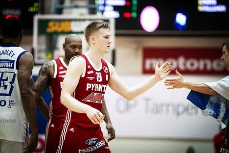 Osku Heinonen on pelannut urallaan jo 10 kautta Pyrinnön paidassa.