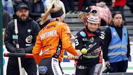Tiia Peltosen kärkilyöntiprosentti oli Pesäkarhuista paras sunnuntain ottelussa, 67.