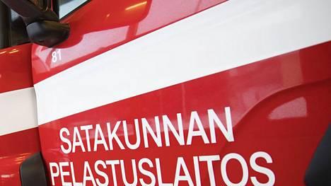Pelastuslaitos sai onnettomuudesta hälytyksen perjantaina kello 9.32.