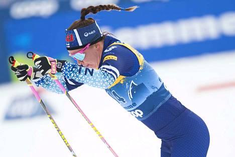 Kerttu Niskanen sijoittui neljänneksitoista.