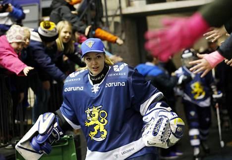 Eveliina Suonpää sai odotetun kutsun MM-kisajoukkueeseen.