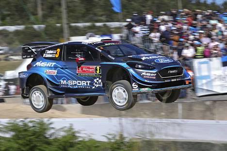 M-Sport Ford Fiesta WRC.