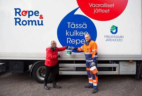 Viime vuonna Repe & Romu -kuormureilla oli 60 keräyspäivää ja 4300 asiakasta. Pirkanmaan Jätehuollon alueelta kerättiin kyytiin lähes 55100 kiloa kodin vaarallisia jätteitä ja 125000 kiloa metalleja.
