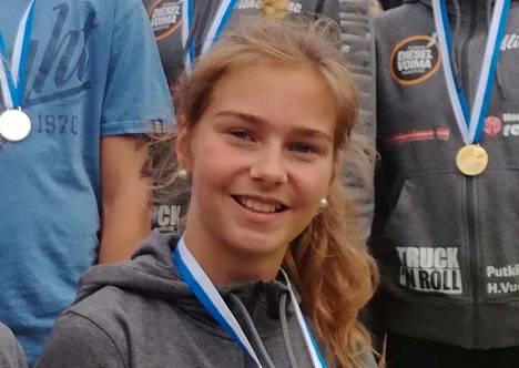 Siiri Ruohonen pelaa alle 18-vuotiaiden EM-kisoissa Itävallassa.