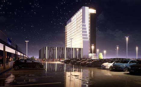 Partolan hotellin rakennusoikeus on 20 000 kerrosneliötä. Hotellioperaattorin kanssa tehty aiesopimus on ollut voimassa jo pitkään.