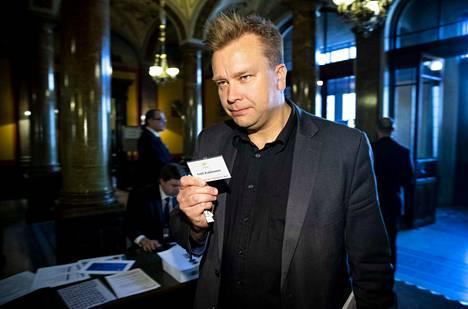 Antti Kaikkonen (kesk.) on vahvoilla ministeriksi Rinteen hallitukseen.