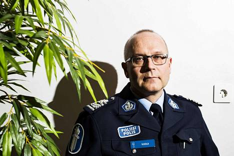 Kuvituskuva: poliisipäällikkö Timo Vuola.